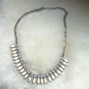 J. Crew Toothed Statement Necklace